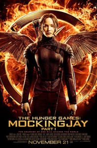 Hunger Games Mockingjay Part 1 is out in November 2014.