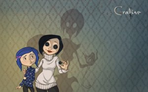 Coraline and her Other Mother in the incredibly creepy 'Coraline'