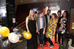 The team prepare for last year's Red Carpet Premiere