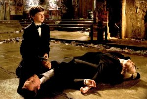 Bruce Wayne experiences the cruel death of his parents