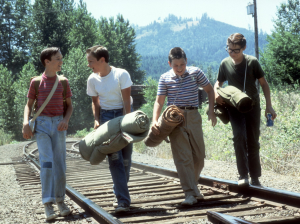The boys are off on the search for a dead body in our top choice of summer films, Stand By Me