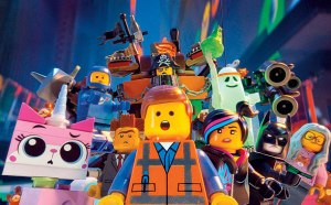 The cast of the LEGO® Movie, on of our favourite films of the last few years