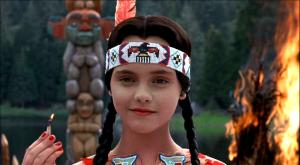 Summer camp is no match for Wednesday Addams